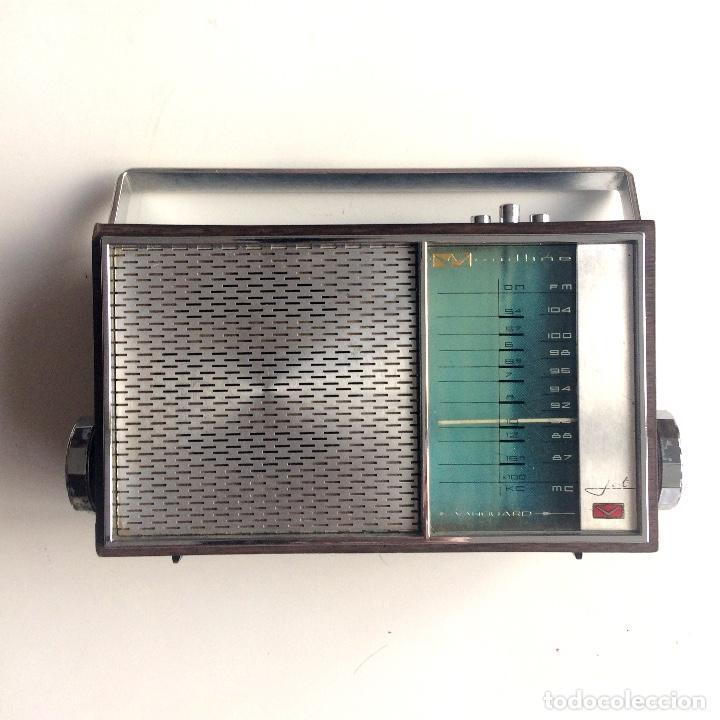 RADIO TRANSISTOR - VANGUARD WOODLINE (Radios, Gramófonos, Grabadoras y Otros - Transistores, Pick-ups y Otros)
