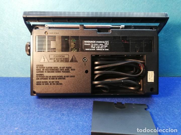 Radios antiguas: Radio transistor Magnavox FUNCIONANDO - Foto 2 - 171426860
