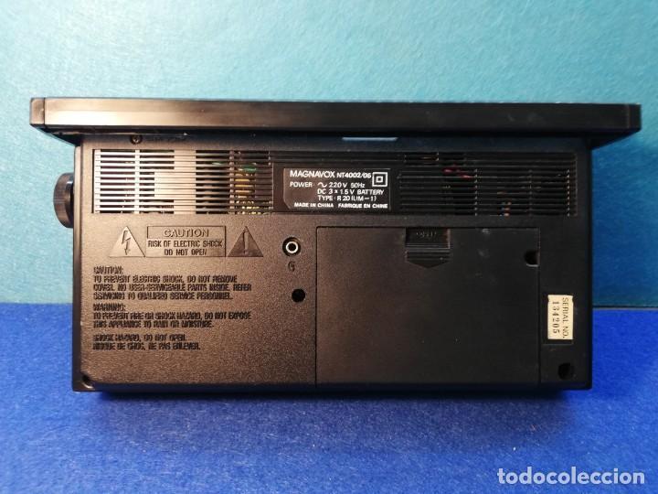Radios antiguas: Radio transistor Magnavox FUNCIONANDO - Foto 3 - 171426860