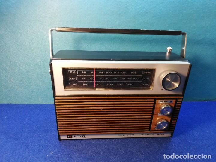 RADIO TRANSISTOR KOYO SOLID STATE FUNCIONANDO (Radios, Gramófonos, Grabadoras y Otros - Transistores, Pick-ups y Otros)