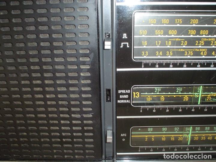 Radios antiguas: RADIO MULTIBANDAS GRUNDIG SATELLIT 2000 - Foto 3 - 171452643
