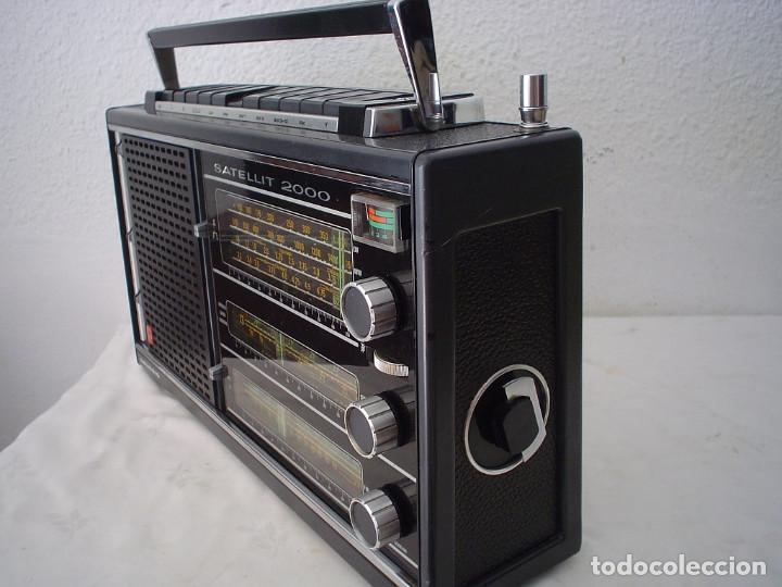 Radios antiguas: RADIO MULTIBANDAS GRUNDIG SATELLIT 2000 - Foto 10 - 171452643