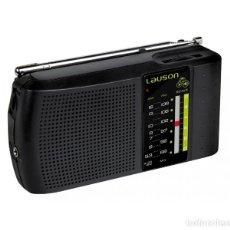Radios antiguas: RECEPTOR DE RADIO AM-FM ANALÓGICO CON ALTAVOZ LAUSON RA-124 ¡NUEVO!. Lote 171488580