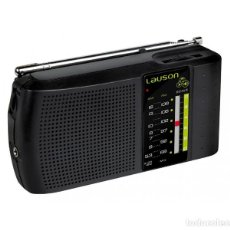 Radios antiguas: RECEPTOR DE RADIO AM-FM ANALÓGICO CON ALTAVOZ LAUSON RA-124 ¡NUEVO!. Lote 171488633