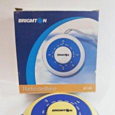 Radios antiguas: RADIO BRIGMTON BT-40 PARA BAÑO.. Lote 171594554