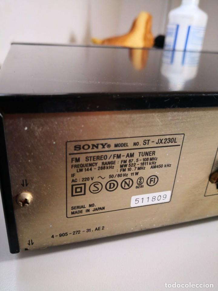 Radios antiguas: Sony AM FM STEREO TUNER - SINTONIZADOR MÓDULO EQUIPO DE RADIO -- envío certificado 12,99 - Foto 3 - 171666954