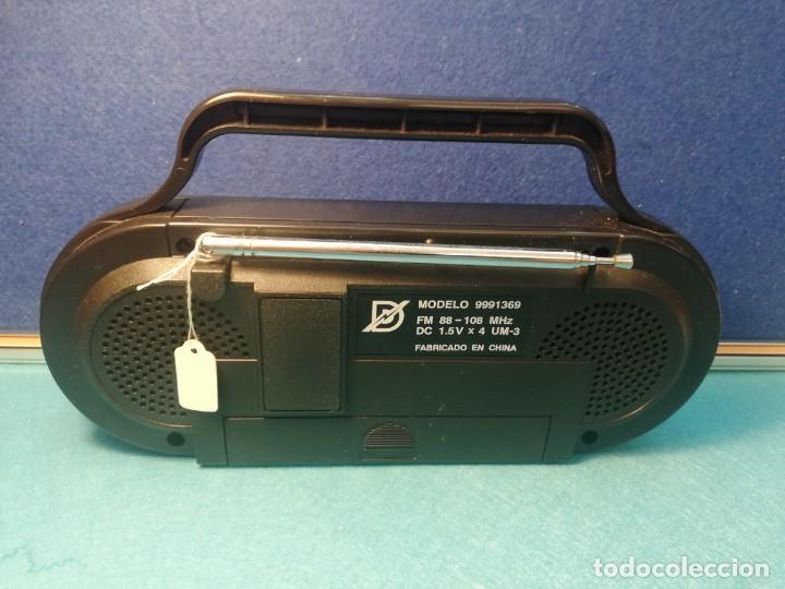 Radios antiguas: Radio receptor Fm mod 9991369 NUEVO FUNCIONA - Foto 2 - 171704990