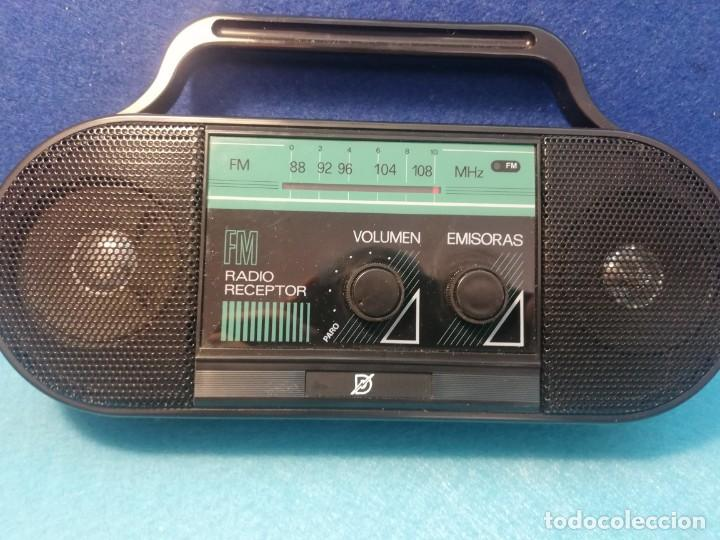 Radios antiguas: Radio receptor Fm mod 9991369 NUEVO FUNCIONA - Foto 3 - 171704990