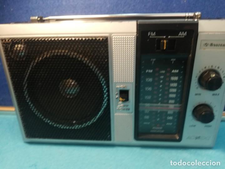 Radios antiguas: Radio portátil Mansonic FUNCIONANDO - Foto 2 - 171705818