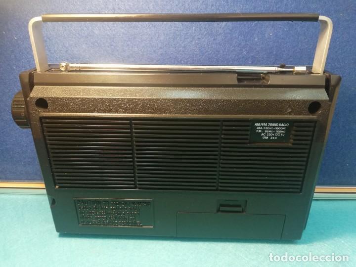 Radios antiguas: Radio portátil Mansonic FUNCIONANDO - Foto 3 - 171705818