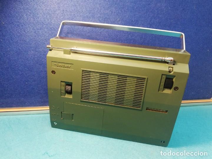 Radios antiguas: Radio transistor Inter FUNCIONANDO - Foto 4 - 171707215