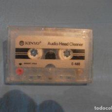 Radios antiguas: CINTA LIMPIADORA CASETTES. Lote 171712057