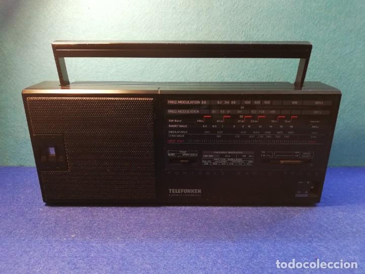 RADIO TRANSISTOR TELEFUNKEN PR20 FUNCIONANDO (Radios, Gramófonos, Grabadoras y Otros - Transistores, Pick-ups y Otros)