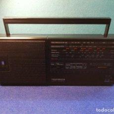 Radios antiguas: RADIO TRANSISTOR TELEFUNKEN PR20 FUNCIONANDO. Lote 171734119