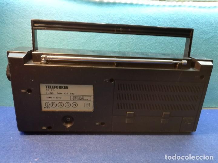 Radios antiguas: Radio transistor Telefunken PR20 FUNCIONANDO - Foto 4 - 171734119