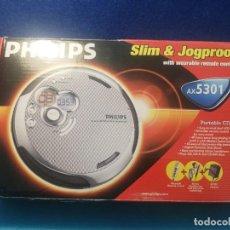 Radios antiguas: PHILIPS REPRODUCTOR PORTÁTIL DE CD AX5303. Lote 171736690
