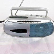 Radios antiguas: RADIO CASSETTE SANYO M1560F. Lote 171965189