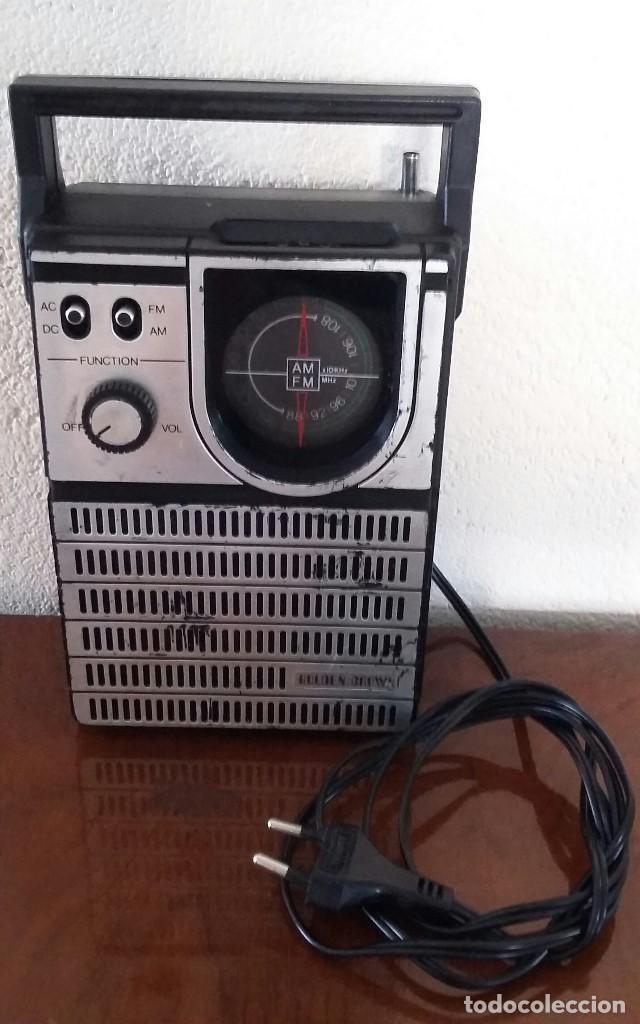 RADIO GOLDEN CROWN. (Radios, Gramófonos, Grabadoras y Otros - Transistores, Pick-ups y Otros)