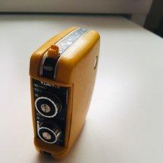 Radios antiguas: TRANSISTOR EXPO 70 AMARILLO. Lote 172103092