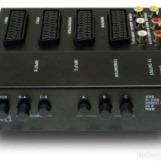 Radios antiguas: SELECTOR PROCESADOR CONTROLADOR AUDIO VIDEO EUROCONECTORES SCART RCA. Lote 172117372
