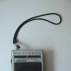 Radios antiguas: PEQUEÑA RADIO TRANSISTOR MARCA VANGUARD B12/2. Lote 172142183