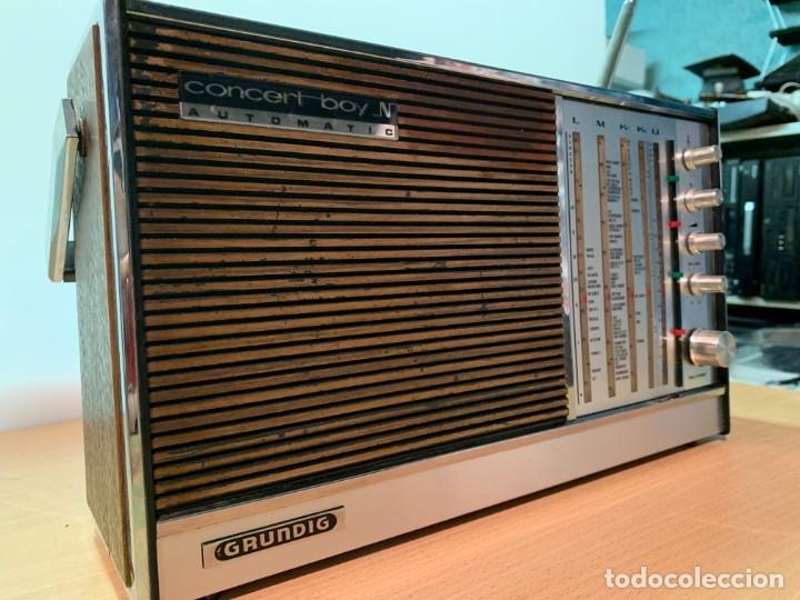 RADIO GRUNDIG CONCERT BOY N AUTOMATIC. (Radios, Gramófonos, Grabadoras y Otros - Transistores, Pick-ups y Otros)