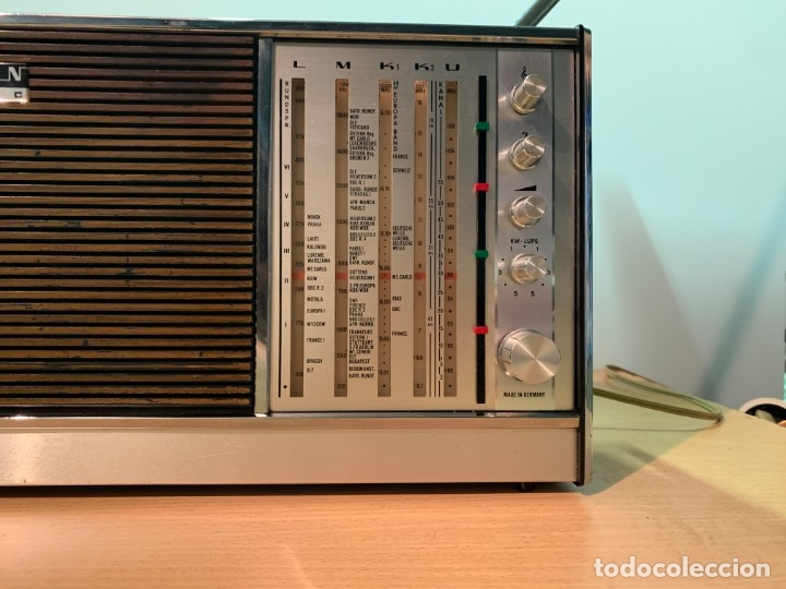 Radios antiguas: Radio Grundig Concert Boy N Automatic. - Foto 3 - 172335607