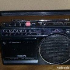 Radios antiguas: RADIO CASSETTE PHILIPS. FUNCIONA.. Lote 172369202