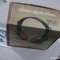 Radios antiguas: ANTIGUA RADIO TRANSISTOR AURICULARES EN SU CAJA. Lote 172369665