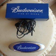 Radios antiguas: RADIO DE BOLSILLO PUBLICIDAD BUDWEISSER.. Lote 172453779