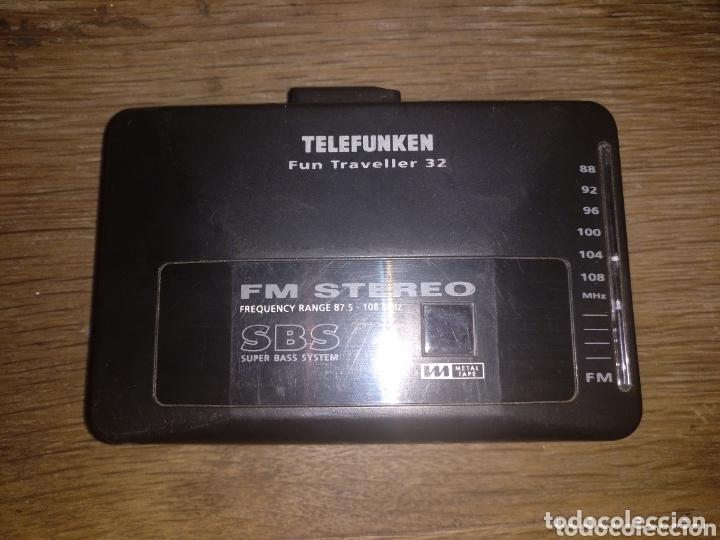WALKMAN TELEFUNKEN (Radios, Gramófonos, Grabadoras y Otros - Transistores, Pick-ups y Otros)