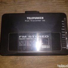 Radios antiguas: WALKMAN TELEFUNKEN. Lote 172672008