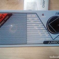 Radios antiguas: 235-RADIO TRANSISTOR JUMBO RC832. Lote 172753080