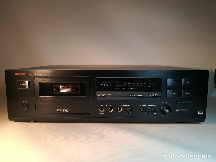 Radios antiguas: Luxman K-321 cassette deck--1991 --REF-DC - Foto 2 - 172790202