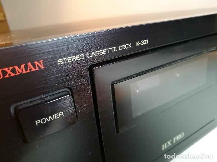 Radios antiguas: Luxman K-321 cassette deck--1991 --REF-DC - Foto 11 - 172790202