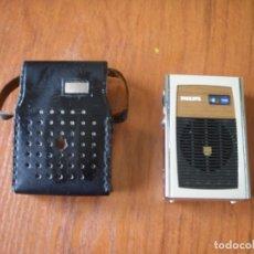 Radios antiguas: RADIO TRANSISTOR PHILIPS 90RL070 FUNCIONANDO MUY BIEN. Lote 172832112