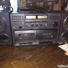 Radios antiguas: SONY CFD 760L FUNCIONANDO. Lote 172876647
