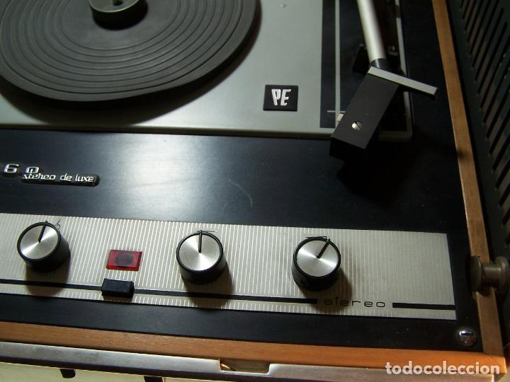 Radios antiguas: Pick-up Perpetuum-Ebner. Modelo Musical 360 stereo deluxe. 125/220. Fabricado en España. - Foto 5 - 172925885