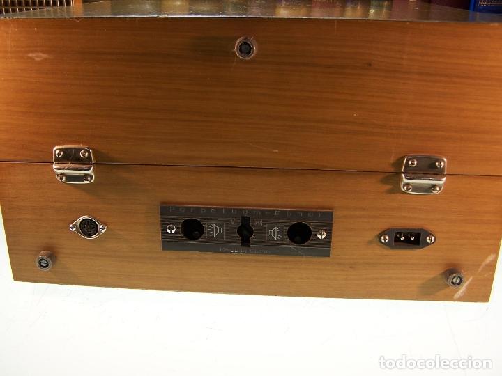 Radios antiguas: Pick-up Perpetuum-Ebner. Modelo Musical 360 stereo deluxe. 125/220. Fabricado en España. - Foto 7 - 172925885
