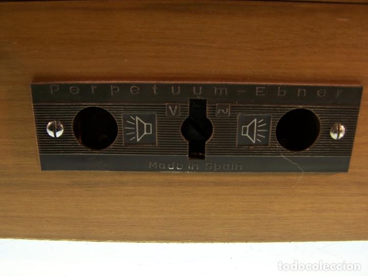 Radios antiguas: Pick-up Perpetuum-Ebner. Modelo Musical 360 stereo deluxe. 125/220. Fabricado en España. - Foto 8 - 172925885