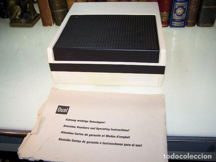 Radios antiguas: Pick-up Dual P23. Completo. Funcionando. Con instrucciones. Forma de maleta para transporte. - Foto 7 - 172926265