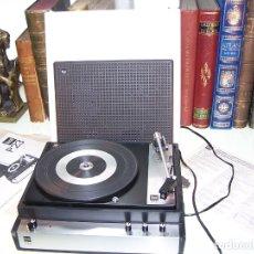 Radios antiguas: PICK-UP DUAL P23. COMPLETO. FUNCIONANDO. CON INSTRUCCIONES. FORMA DE MALETA PARA TRANSPORTE.. Lote 172926265