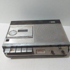 Radios antiguas: CASSETTE RECORDER PHILIPS 2205 CON SU FUNDA. LEER BIEN LA DESCRIPCIÓN.. Lote 173014327