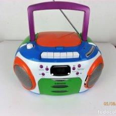 Radios antiguas: RADIO CD CASSETTE LENCO SCR-97. Lote 173043729