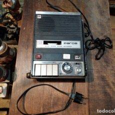 Radio antiche: PAROS SOLID STATE RADIO RECORDER, 125V, RÁDIO FUNCIONANDO - 17.5 X 24.5CM. Lote 173047317