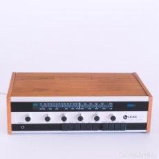Radios antiguas: AMPLIFICADOR RECEPTOR DE RADIO 3 BANDAS LEAK 1800. MADERA DE TECA. AÑOS 70. FUNCIONA CORRECTAMENTE. Lote 173059148