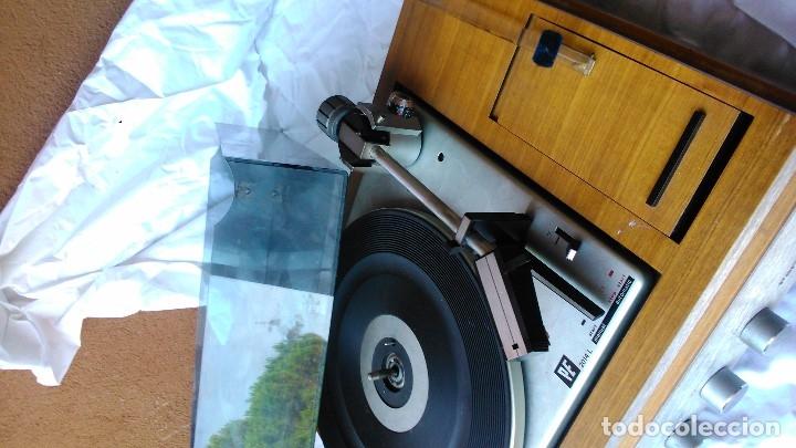 Radios antiguas: Maravilloso pick-up autoamplificado PERPETUUM-EBNER revisado -listo para funcionar- por tan sólo - Foto 2 - 173469023
