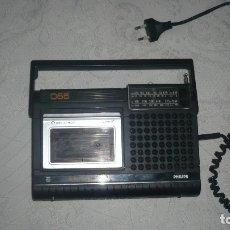 Radios antiguas: RADIO-CASSETTE PHILPIPS 066 AÑO 70-80. Lote 173500150