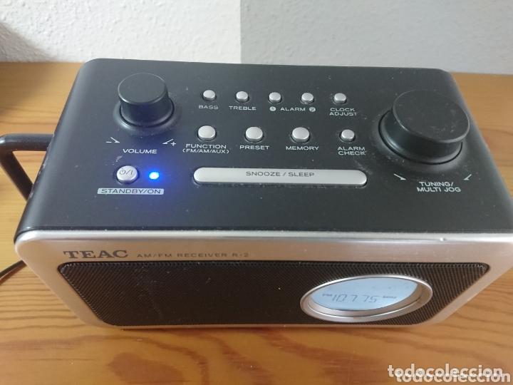 Radios antiguas: Radio Despertador Digital TEAC R-2 AM/FM Receiver - Foto 2 - 173653335