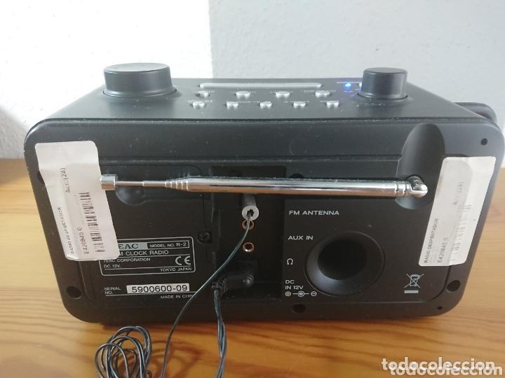 Radios antiguas: Radio Despertador Digital TEAC R-2 AM/FM Receiver - Foto 3 - 173653335